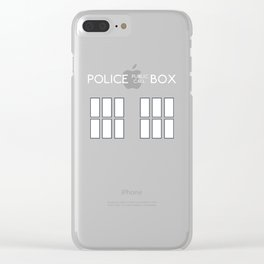 Doctor Who, Tardis Clear iPhone Case