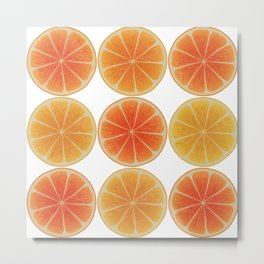 Oranges oranges Metal Print