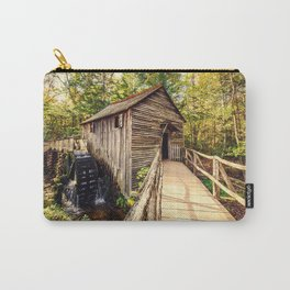 Cades Cove Grist Mill Carry-All Pouch