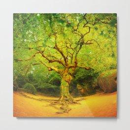 Golgotha Tree Metal Print