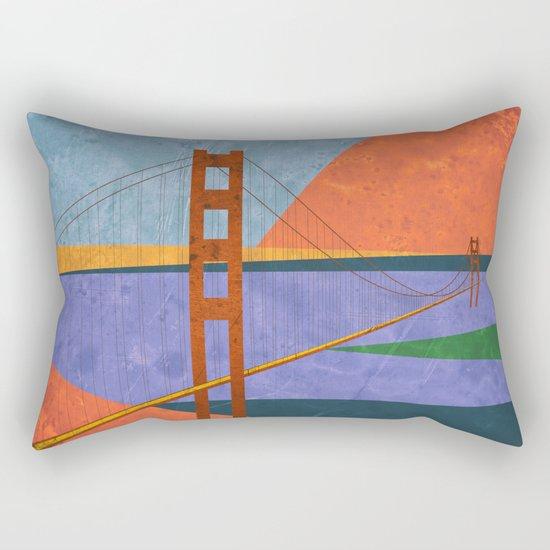 Golden Gate Bridge II Rectangular Pillow