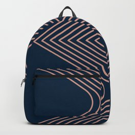 'B' Illusion Backpack
