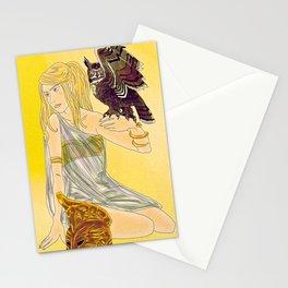 Annabeth as Athena  Stationery Cards