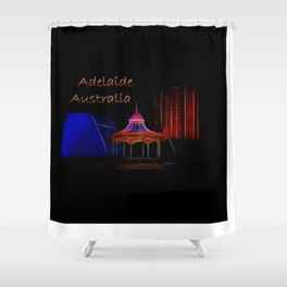 Electrified Adelaide Shower Curtain