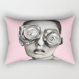 Sugarfree pale pink Rectangular Pillow