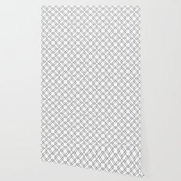 Simply Mod Diamond Black and White Wallpaper