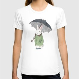Mr. Tibbles Loves the Rain T-shirt