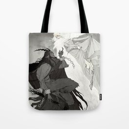 Krampus and Perchta Tote Bag
