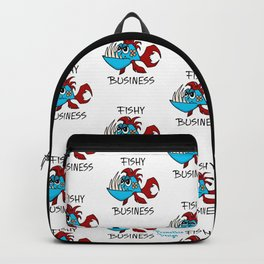 Fishy Business - Pattern Backpack