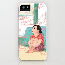 Alexa, Are You Safe for My Family? iPhone Case