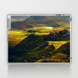 The Mountain Men at Isle Of Skye Laptop & iPad Skin