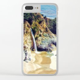 McWay Falls Big Sur California Clear iPhone Case