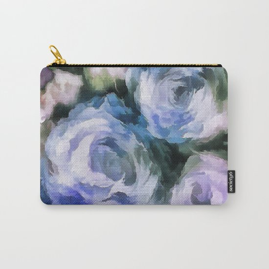 Blue rose. Carry-All Pouch