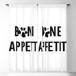 bon appéti Sign, Dog Art, Bone Appetite Sign, Pet Wall Decor Printable, Cute Puppy  Blackout Curtain