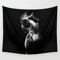smoke Wall Tapestries featuring Smoke by JBdesign