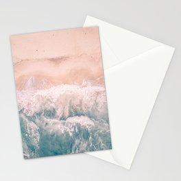 California Beach Waves Stationery Cards