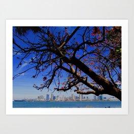 San Diego ~ Skyline Art Print