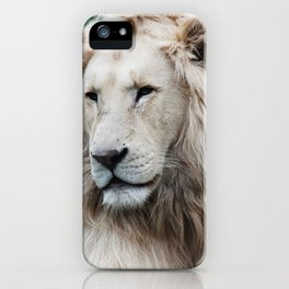 White stands out in the desert iPhone Case