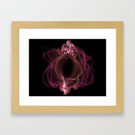 Purple beauty 2 Framed Art Print