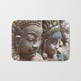 Apsara Carvings Bath Mat