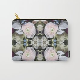Spring Blooms Kaleidoscope Photographic Pattern #4 Carry-All Pouch