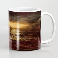 italian Mugs featuring Italian Sunset  by Brianna Clare
