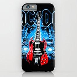 AC/DC Electro iPhone Case