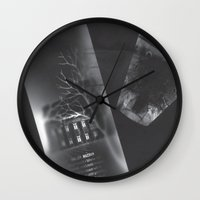 vodka Wall Clocks featuring Vodka Visions by Andrea Jean Clausen - andreajeanco