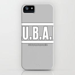 FUBAR iPhone Case