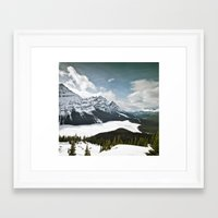 canada Framed Art Prints featuring CAnAdA by nosnop