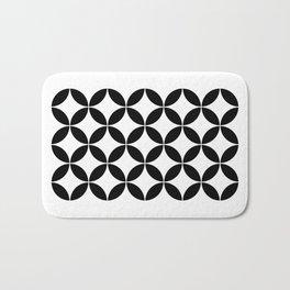 Geometric Pattern #65 (circles) Bath Mat