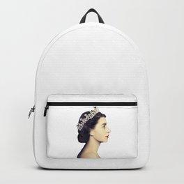 QUEEN ELIZABETH II - THE YOUNG QUEEN IN PROFILE Backpack