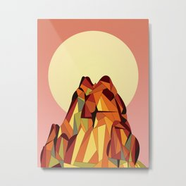 TOUCHING THE VOID Metal Print