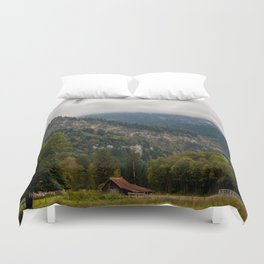 Magic meadow Duvet Cover