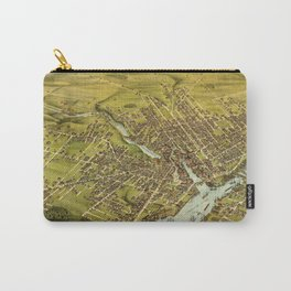 Bird's eye view of the City of Bangor, Penobscot County, Maine (1875) Carry-All Pouch