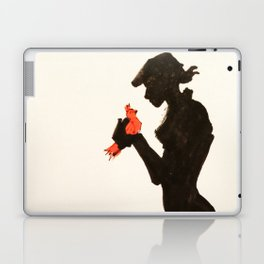 Bird in Hand Laptop & iPad Skin