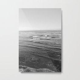 Sunset Cliffs Surfers III Metal Print