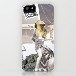 _THOUGHTS iPhone Case