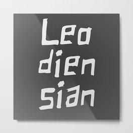 Leodiensian Metal Print