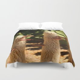 A Funny Sight Cacti Duvet Cover
