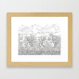 Hidden Things Framed Art Print