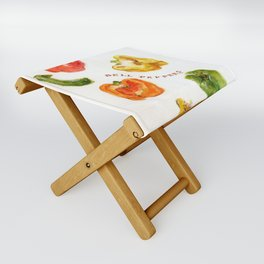 Bell Peppers Folding Stool