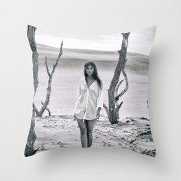 B&W Models Series Throw Pillow