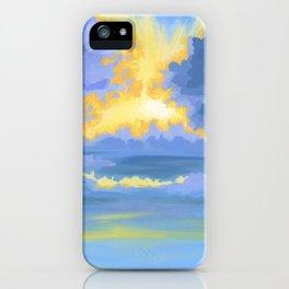 WINTER SUNDOWN iPhone Case