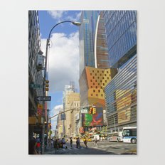 Enter Section Canvas Print