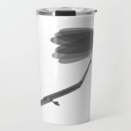 Spring Bird Black & White Travel Mug