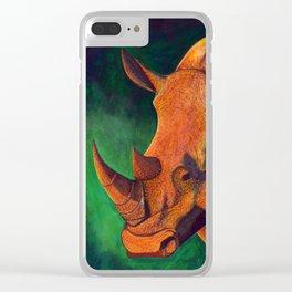 White Rhino Clear iPhone Case