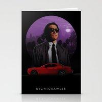 nightcrawler Stationery Cards featuring Nightcrawler by Ash Reynolds