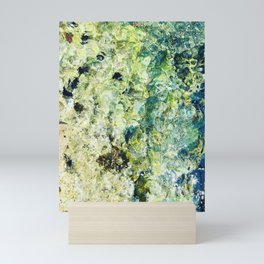 Abstract seabed Mini Art Print