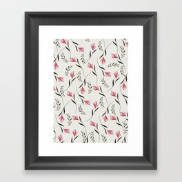 flowers75 Framed Art Print